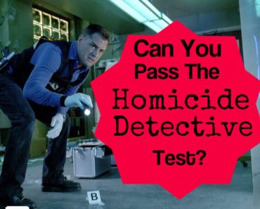 Can you pass the homicide detective test?