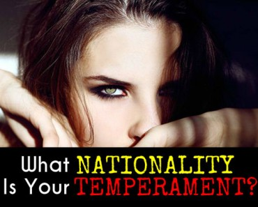 What nationality is your temperament?