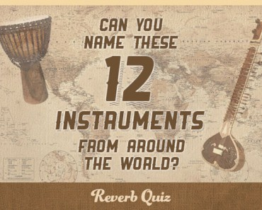 Can you name these 12 instruments from around the world?