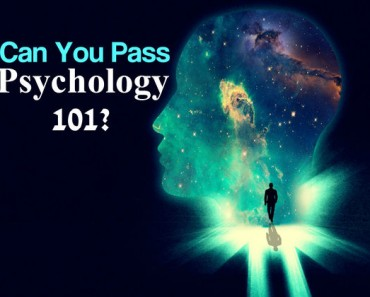 Can you pass pyschology 101?