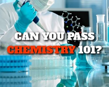 Can you pass chemistry 101?