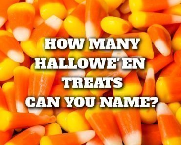 how many halloween treats can you name from just a picture quiz
