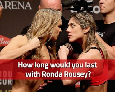 how long would you last in the cage with ronda rousey quiz