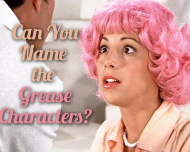 name the grease characters quiz