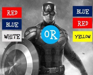 superhero color quiz