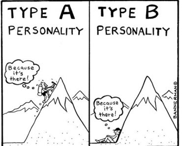 type a or type b personality quiz