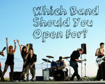which band should you open for quiz