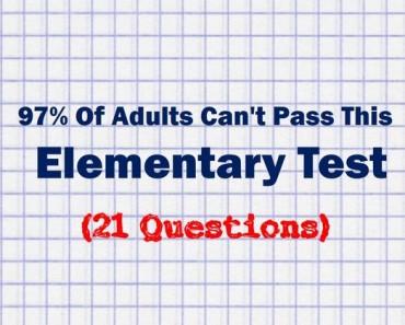 elementary school trivia quiz