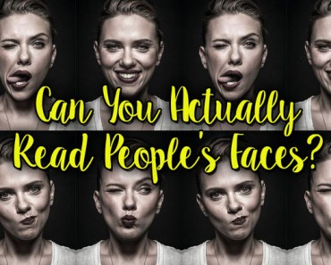 reading people's faces quiz