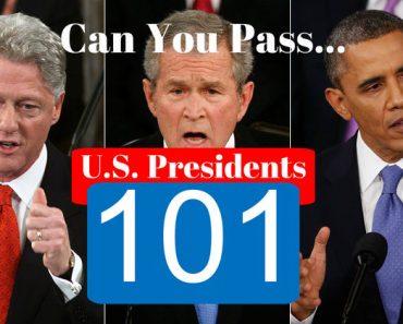 united states presidential trivia quiz