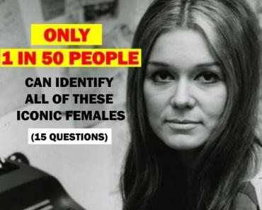 famous females trivia quiz