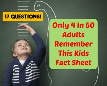 kids fact sheet trivia quiz
