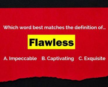test your vocabulary quiz