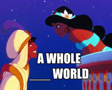 a whole new world aladdin lyrics trivia quiz