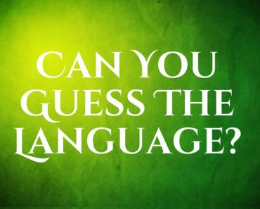 can you guess the language trivia quiz