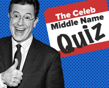 celebrity middle names trivia quiz