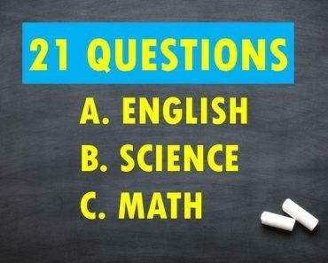 3rd grade trivia quiz