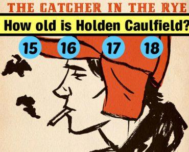 catcher in the rye trivia quiz
