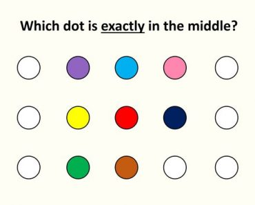 which dot is in the middle test