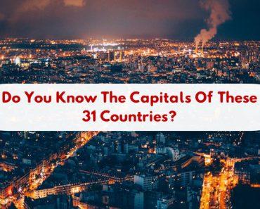 world capital city geography quiz