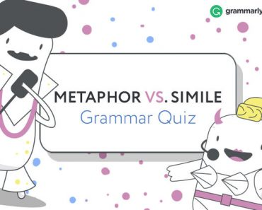 metaphor or simile grammar quiz