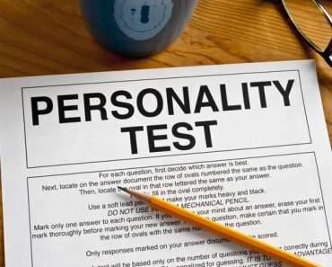 20 question personality test