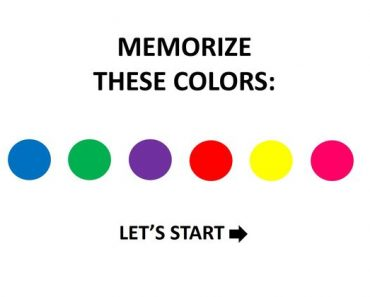 what color is your memory quiz