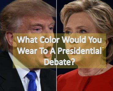 what color would you wear to a debate quiz