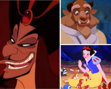 three disney characters personality quiz