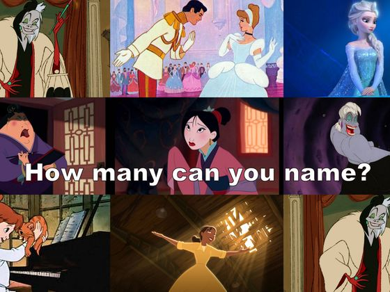 female disney character trivia quiz