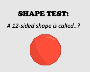 geometric shape test