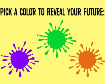 fortune telling color quiz
