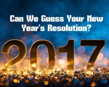 new year's resolution quiz