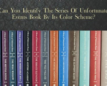 series of unfortunate events book color schemes quiz