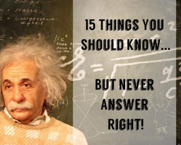 15 things you should know quiz