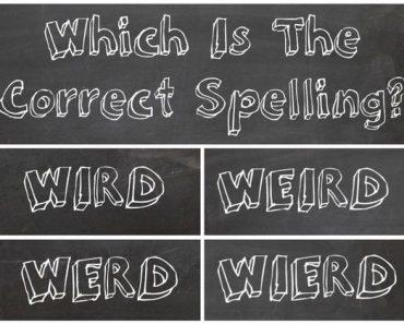 misspelled words test