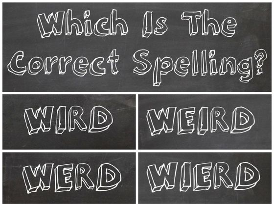misspelled words test