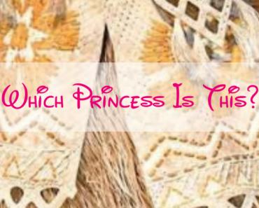 guess disney princess from dress