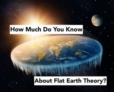 flat earth theory quiz