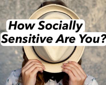 social sensitivity quiz