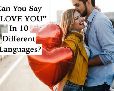 how to say I love you in ten languages quiz
