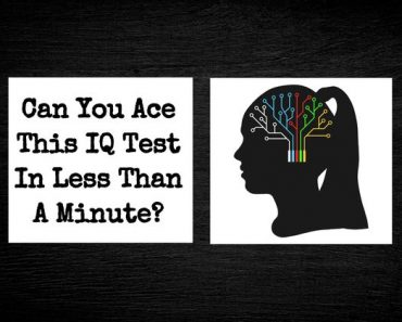 one minute iq test