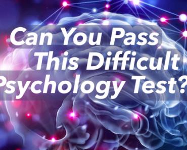 pyschology test