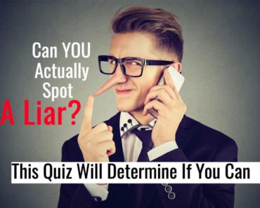 can you spot a liar quiz